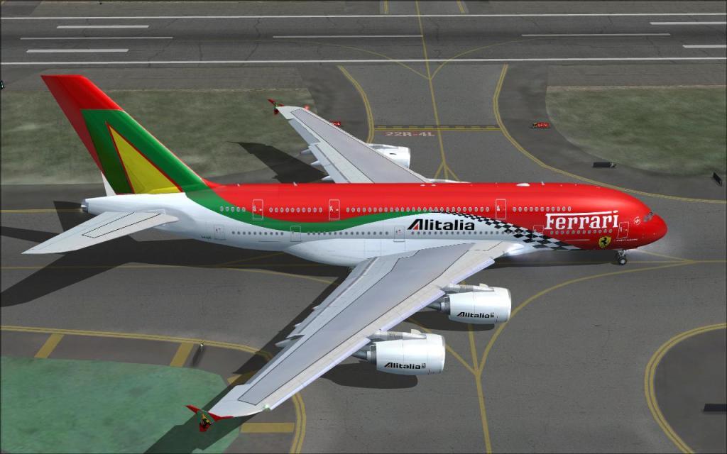 Adding to the Stable...Er Hangar Alitalia_A380